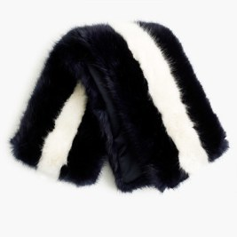 j-crew-for-net-aporter-faux-fur-striped-stole