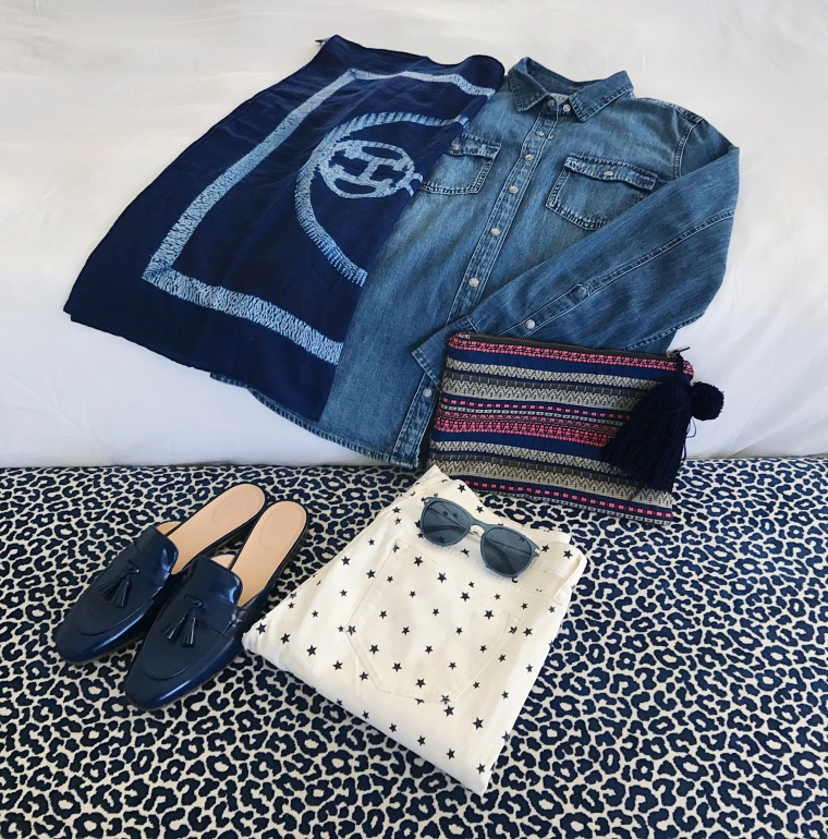 western-chambray-star-print-denim-hermes-legend-of-lido-flatlay