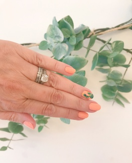 cactus mani olive and june 1