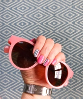 stripes mani jcrew jane sunglasses