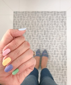 mani monday easter jcrew 1
