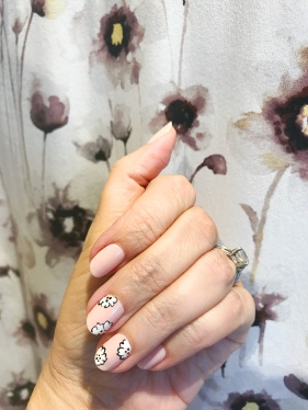 equipment chanel nail art floral