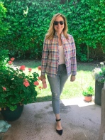 jcrew plaid blazer
