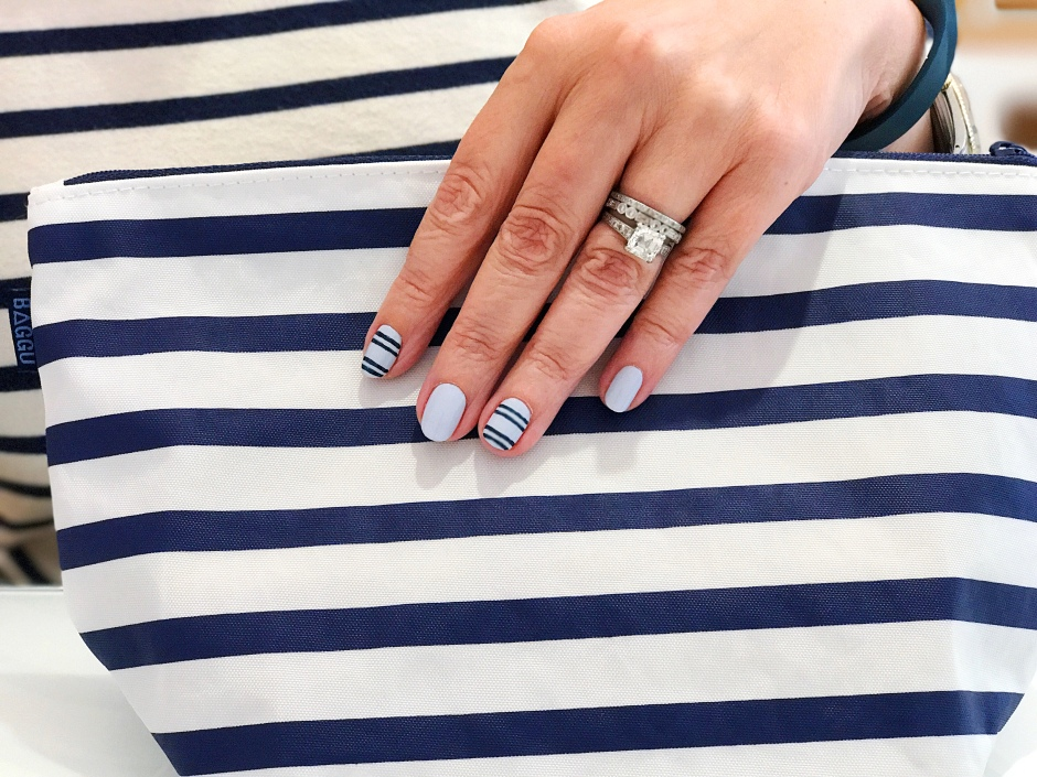 jcrew-saintjames-fitbit-bagu-stripes-manimonday-essie