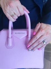 rainbow nail aart givenchy pink