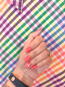 nailart-flamingo-jcrew-rainbowgingham