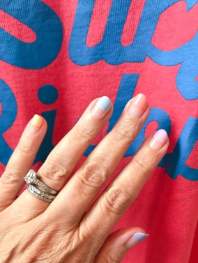 mani monday nail art jcrew ebbets field 1