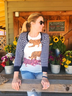 jcrew tiger gingham earthbound farms 3