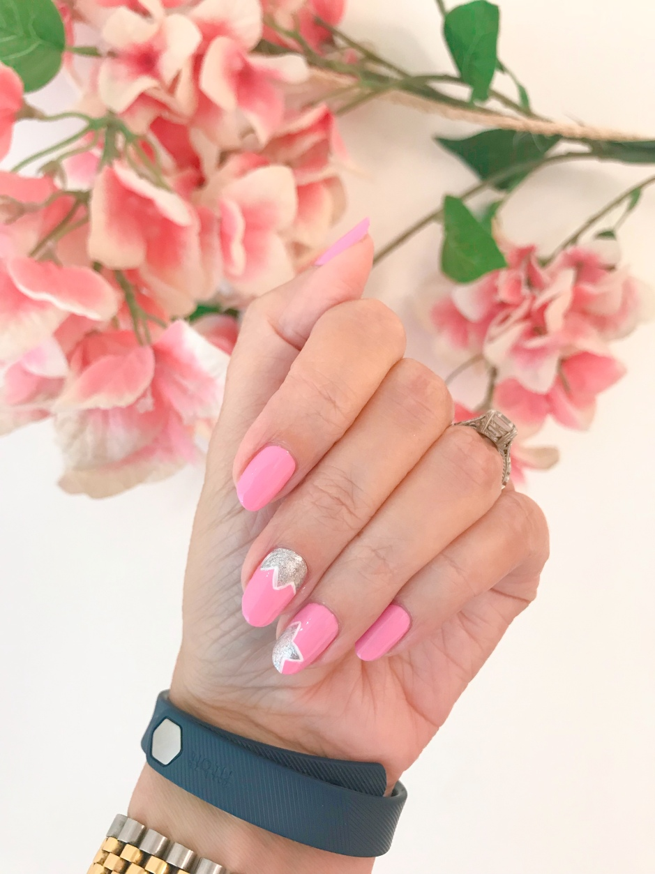 nailart-manimonday-olivejune-fitbit-rolex