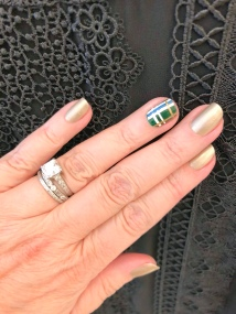 manimonday-chanel-plaid-tedbaker