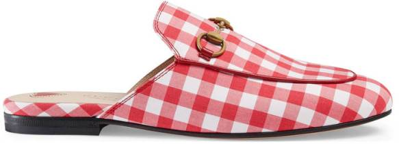 gingham gucci
