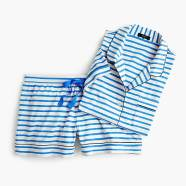 Jcrew Dreamy short-sleeve cotton pajama