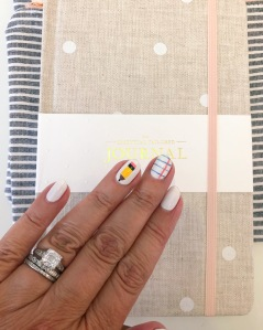 nailart-backtoschool-hermes-jcrew-essie-olivejune-sugarpaper