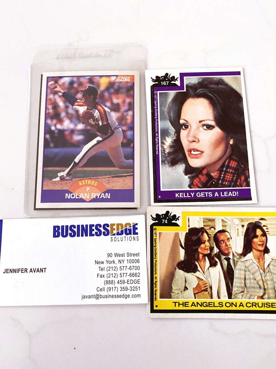 charliesangels baseball cards home organizing